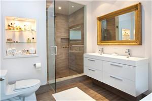 测评:莱博顿NWC1淋浴房  沐浴空间的黑色诱惑