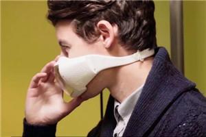 Breaze高科技口罩,抗雾霾和装B神器