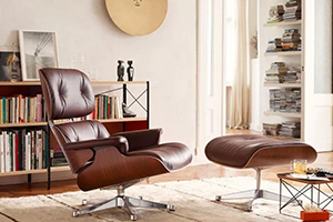 经典 | 超舒适,Charles and Ray Eames 设计的 Lounge Chair!